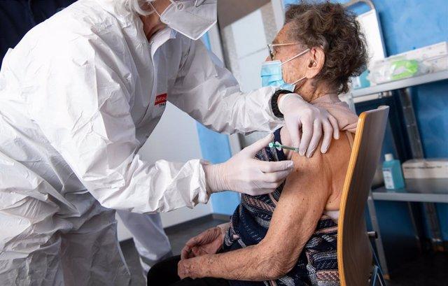 Vacunación contra el coronavirus en Alemania.
