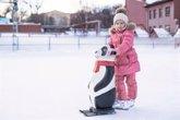 Foto: Si hay hielo, camina como un pingüino