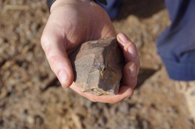 Artefacto recién encontrado de Laminia, Senegal