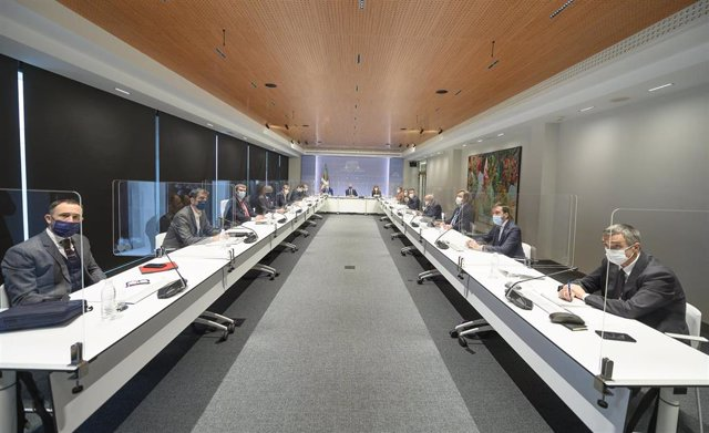 Rrunión del Comité Asesor del LAB, Presidido por el Lehendakari, Iñigo Urkullu