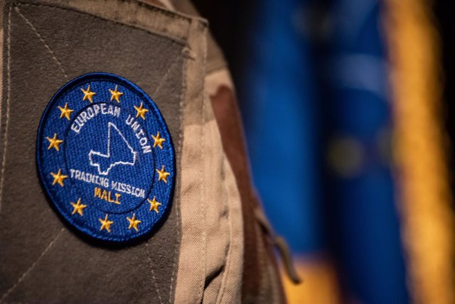 Logo de la mision EUTM Malí de la Unión Europea