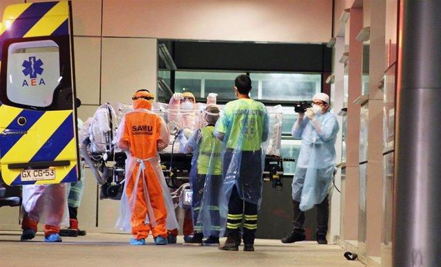 Sanitarios en Chile durante la pandemia de coronavirus