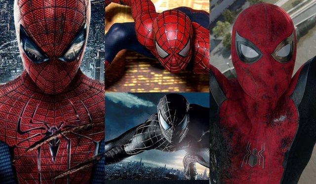 Las diferentes versiones de Peter Parker, juntas en Spider-Man 3 y el Multiverso Marvel