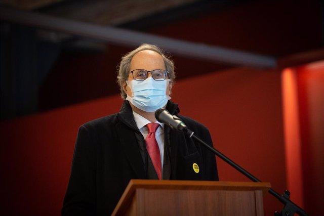 L'expresident de la Generalitat, Quim Torra.