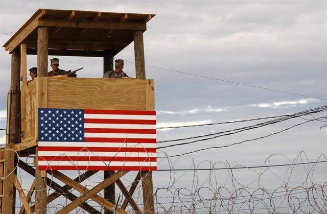 Imagen de archivo del centro de detención de Guantánamo.