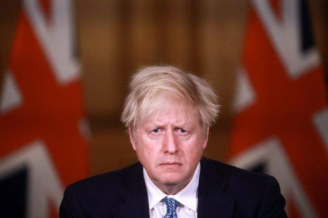 El primer ministro briánico, Boris Johnson.