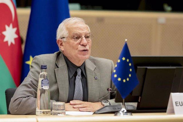 El Alto Representante para la Política Exterior de la UE, Josep Borrell