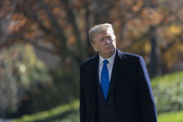 El presidente saliente de EEUU, Donald Trump.