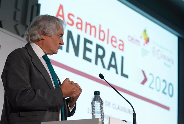 El presidente de la Confederación Empresarial de Madrid CEOE (CEIM), Miguel Garrido.