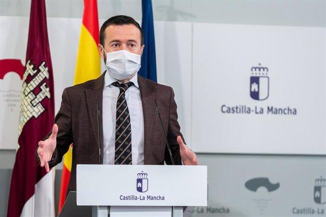 El consejero de Desarrollo Sostenible, José Luis Escudero,