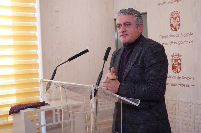 José María Bravo, diputado de Cultura, Juventud y Deportes.