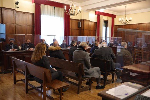 Sesión del juicio del Betis, resuelto por conformidad