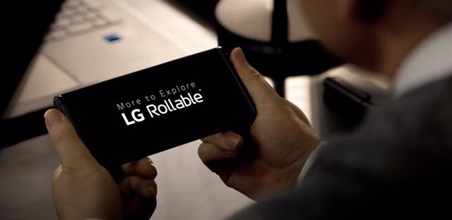 LG Rollable
