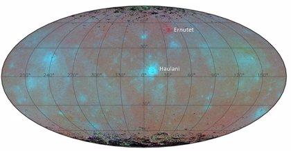 Explicación al azul misterioso del planeta enano Ceres