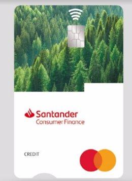Nueva tarjeta ECO de Santander Consumer.