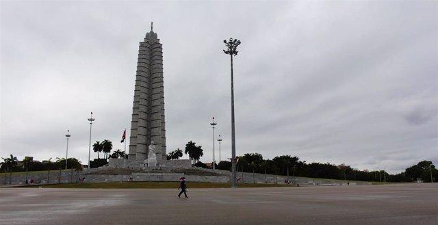 Plaza de a Revolución en La Habana