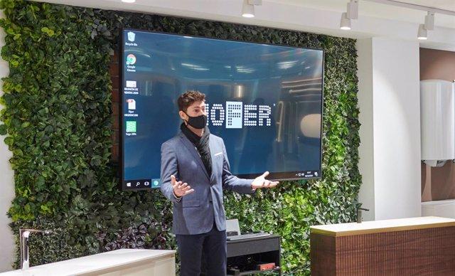 Momento de la presentación en las instalaciones de Nofer.