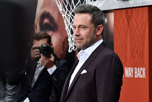 Ben Affleck en la premiere de The Way Back en Los Ángeles
