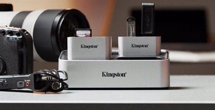Kingston presenta la estación de trabajo con lectores de tarjetas y conexiones USB