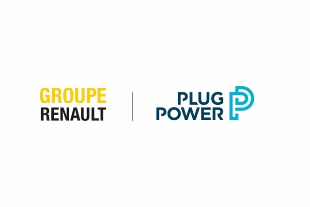 Logos de Renault y Plug Power.
