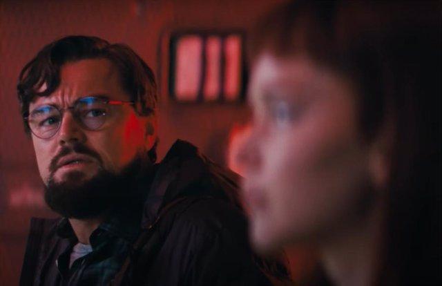 Leonardo DiCaprio en Don't look Up, película de Netflix