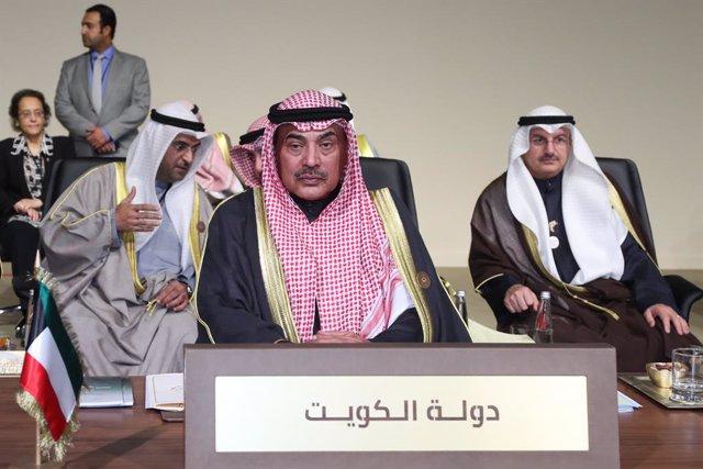 El primer ministro de Kuwait, Sabá al Jalid al Sabá
