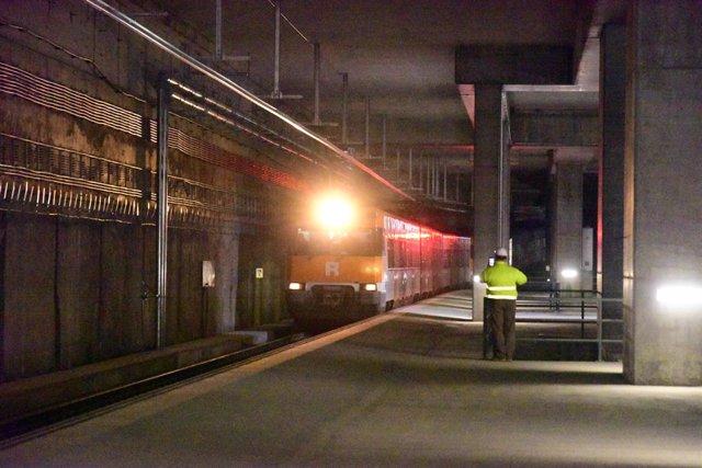 Un tren de Renfe. Foto d'arxiu.