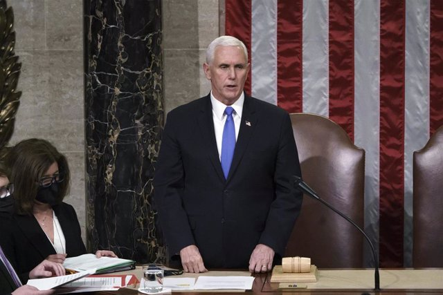 El vicepresidente de Estados Unidos, Mike Pence.