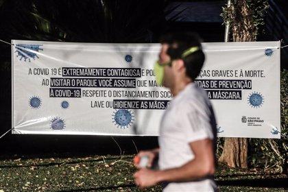 Coronavirus.- Brasil registra 64.000 casos y 1.110 muertes por coronavirus en el último día
