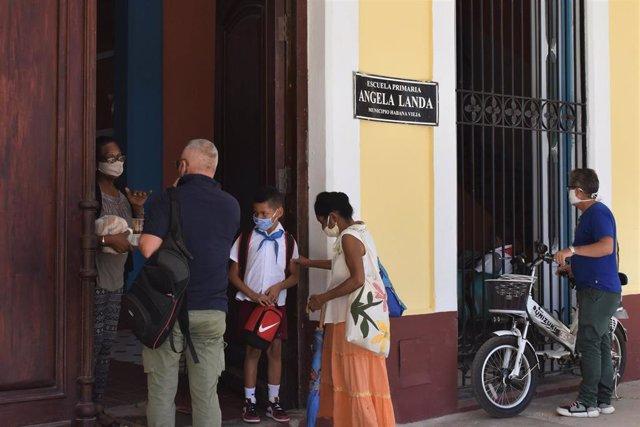 Escuela primaria en La Habana
