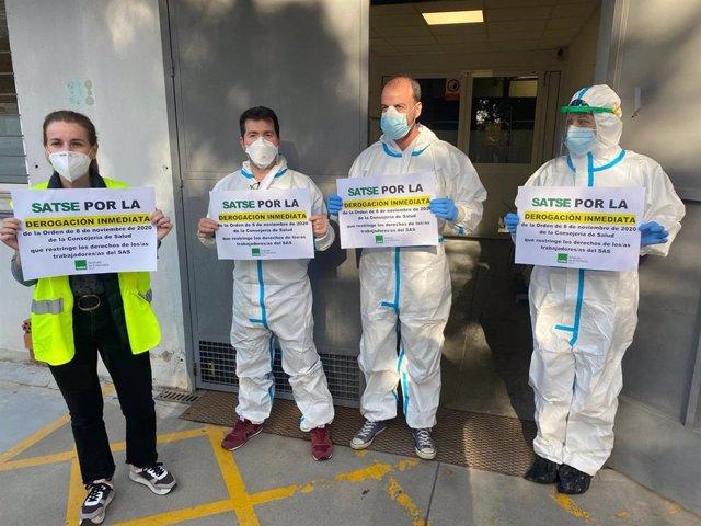 Salud acuerda con los sindicatos derogar la orden sobre derechos del personal sanitario