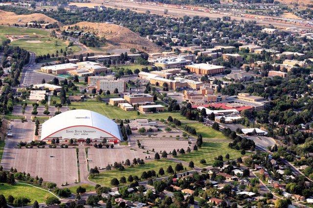 Campus de la Universidad de Idaho