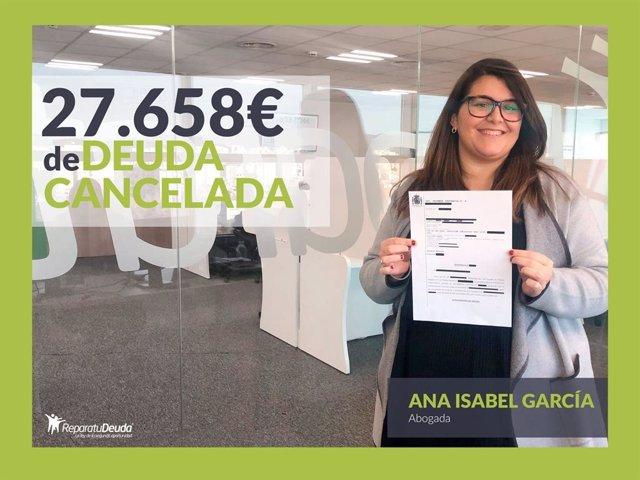 Ana Isabel García, abogada directora en Repara tu deuda abogados