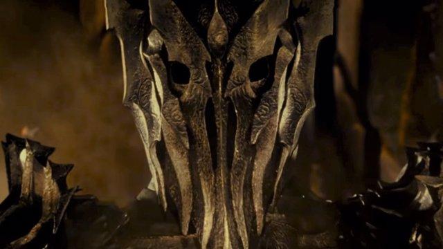 Sauron en la película de El señor de los anillos