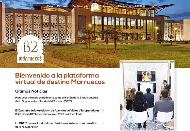 Marruecos lanza una plataforma digital para su promoción turística en España