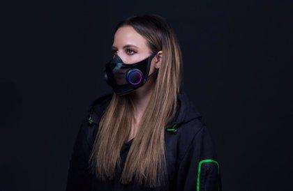 Este es el concepto de máscara inteligente de Razer: sostenible, transparente y con iluminación personalizable