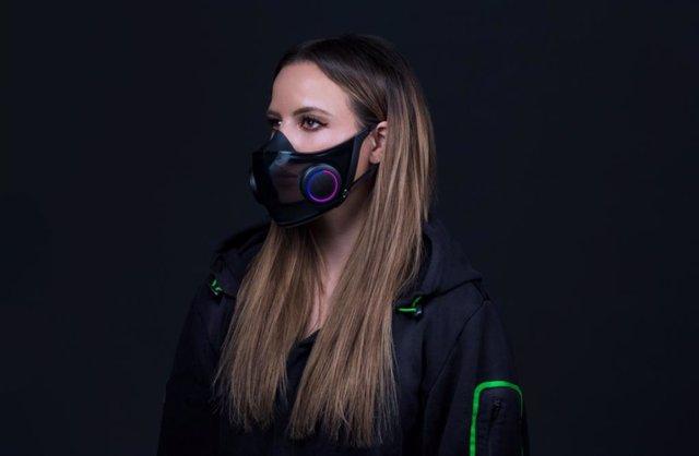 Máscara inteligente de Razer