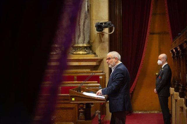 El líder de Cs a Catalunya i candidat a la presidència de la Generalitat, Carlos Carrizosa
