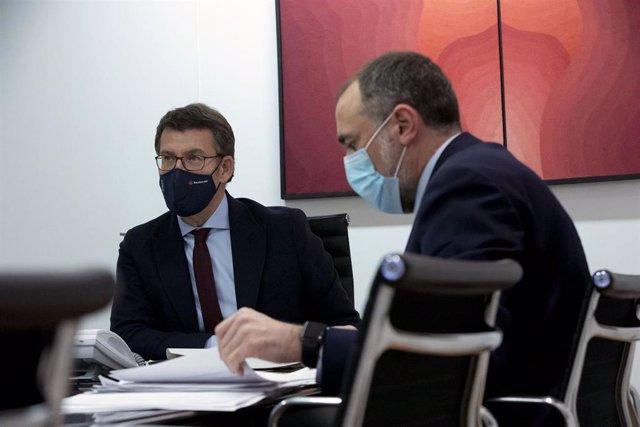 Fotos: O Presidente Da Xunta Participa Na Reunión Do Comité Clínico
