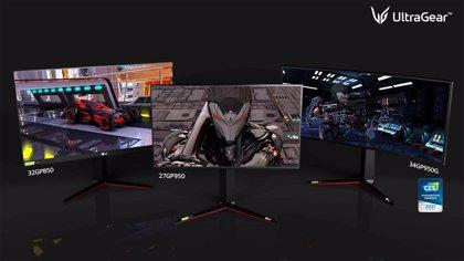 LG actualiza sus monitores gaming UltraGear con pantallas Nano IPS de 1ms y tecnología Nvidia G-SYNC