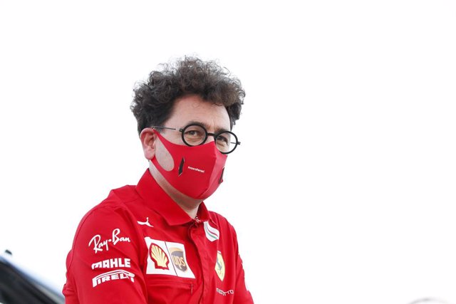 BINOTTO Mattia (ita), Team Principal & Technical Director of the Scuderia Ferrari, portrait during the Formula 1 Rolex Sakhir Grand Prix 2020, from December 4 to 6, 2020 on the Bahrain International Circuit, in Sakhir, Bahrain - Photo Florent Gooden / DPP
