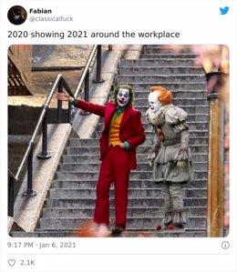 El nuevo año 2021 no está siendo como la gente pensaba y vierten su decepción en redes sociales