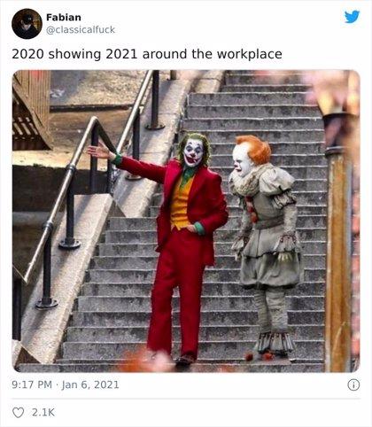 El nuevo año 2021 no está siendo como la gente pensaba y vierten su decepción en redes sociales con mucho humor y memes