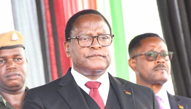 El presidente de Malaui, Lazarus Chakwera