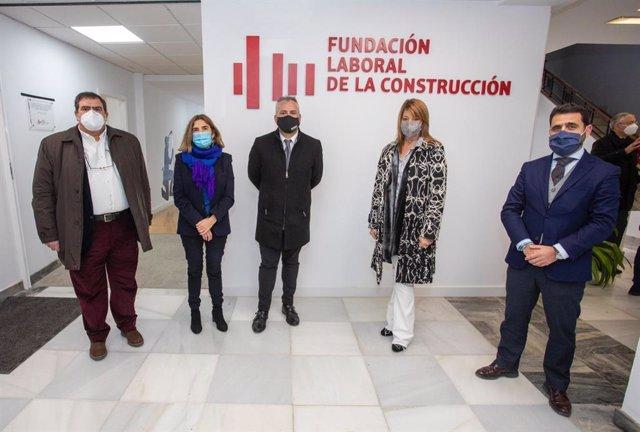Inauguración del nuevo centro de la Fundación Laboral de la Construcción.