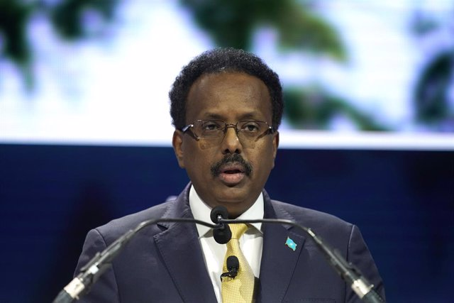El presidente de Somalia, Mohamed Abdullahi Mohamed  'Farmajo'