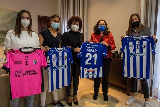 Nota De Prensa Y Fotos De Hoy, 13 De Enero, Convenio Sporting De Huelva