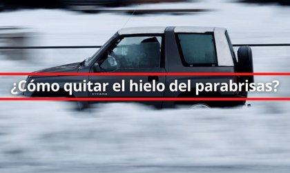 ¿Cómo quitar el hielo del parabrisas de tu coche?