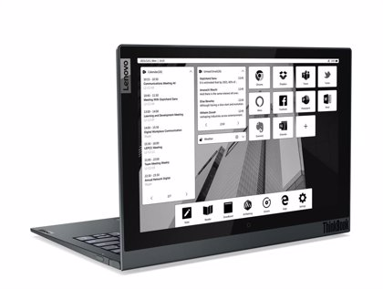 Lenovo presenta la segunda generación de ThinkBook Plus con pantalla secundaria de tinta electrónica