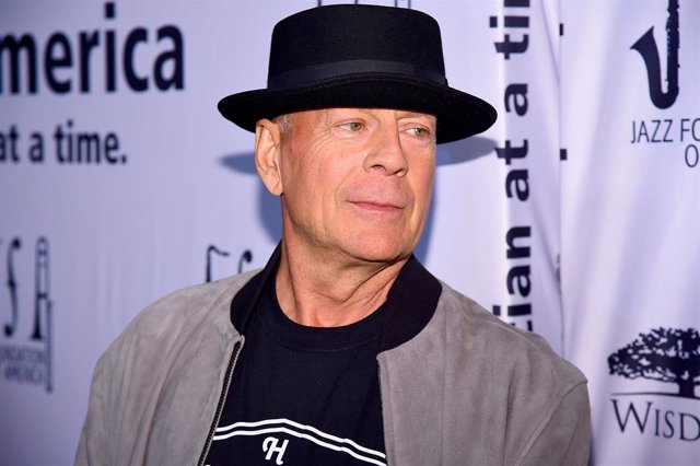 Bruce Willis attends the 17th Annual A Great Night In Harlem at The Apollo Theater on April 04, 2019 in New York City